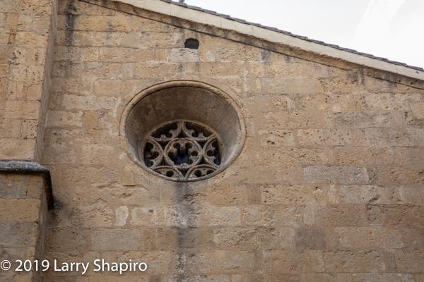 Star of David on Cordoba church