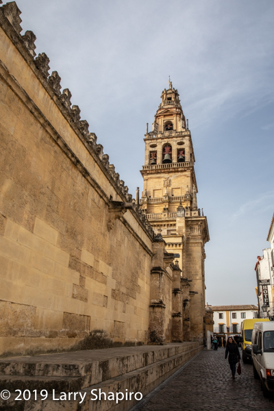 bell tower in Cordoba