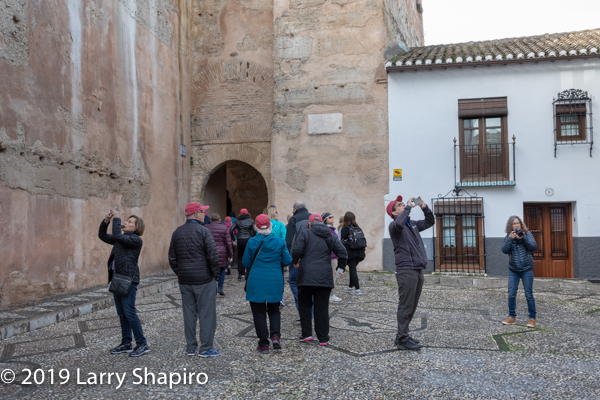 Am Shalom of Glencoe tours Spain 2019
