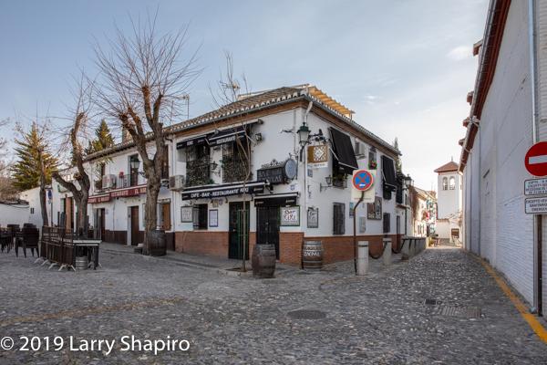 Beautiful buildings in Granada