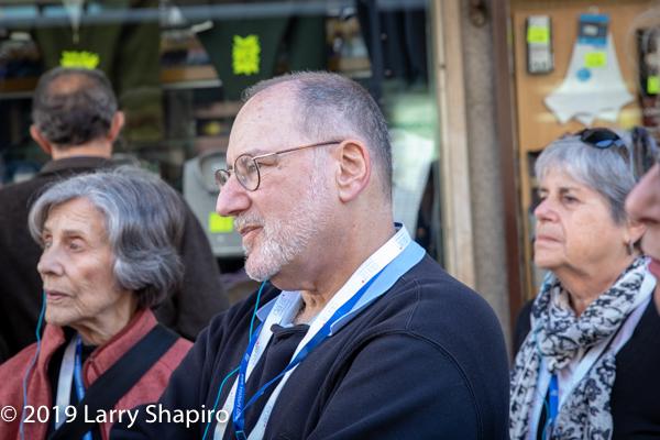 Paul Gordon on Am Shalom tour of Madrid
