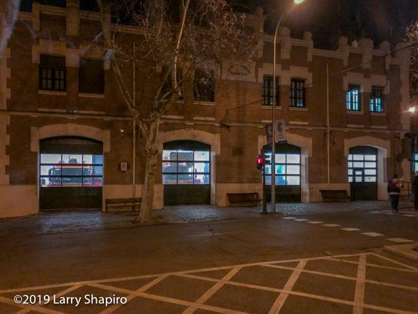 parque de bomberos in Madrid