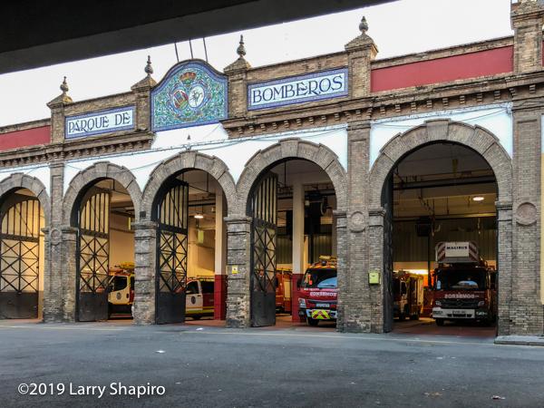 parque de bomberos Seville