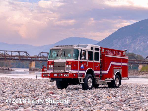 2018 E-ONE Cyclone II 4x4 fire engine in Terrace BC