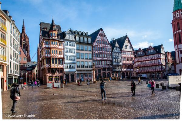 Romer Square in Frankfurt Germany