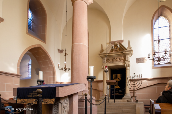 Worms Synagogue in Germany