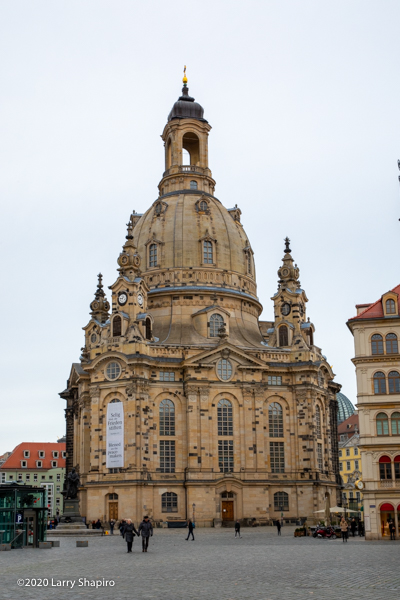 historic church in Dresden