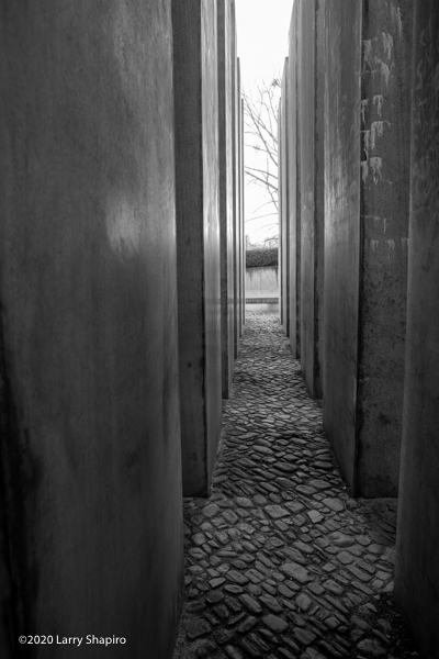 Garden of Exile in the Jewish Museum of Berlin