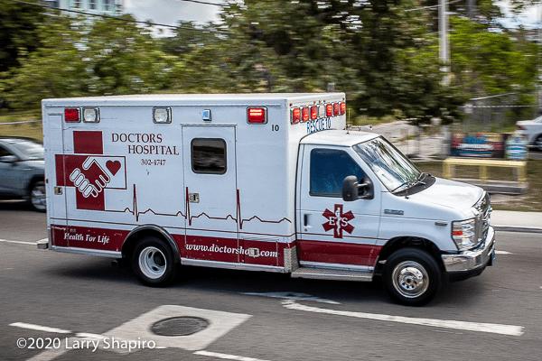 Type 3 ambulance in the Bahamas