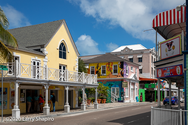 downtown Nassau The Bahamas