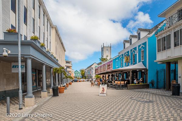 downtown Nassau The Bahamas