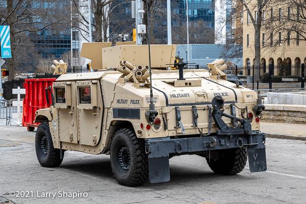 Georgia Army National Guard Humvee