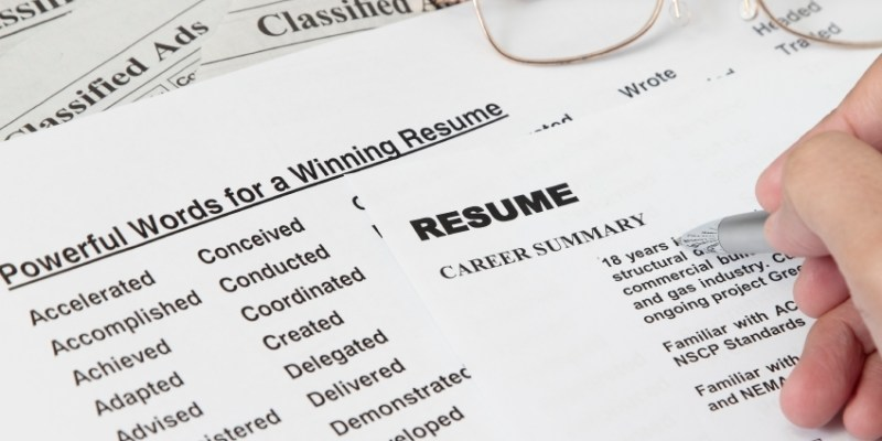 resume not paper anymore