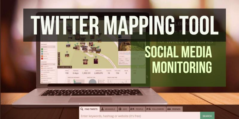 Twitter Mapping Tool - Social Bearing