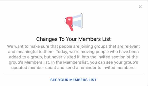Group member invites