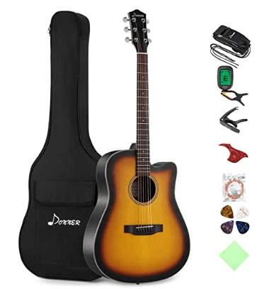 Conner Cutaway Sunburst Guitar Bundle