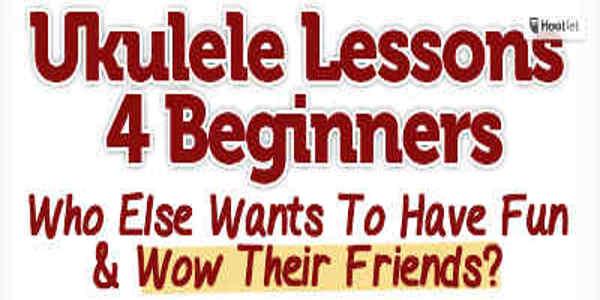 Ukulele Lessons 600x300