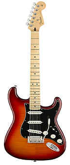 Fender Player Stratocaster Electric Guitar - Maple Fingerboard - Aged Cherry Burst