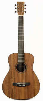 Martin LXK2 Little Martin Hawaiian Koa
