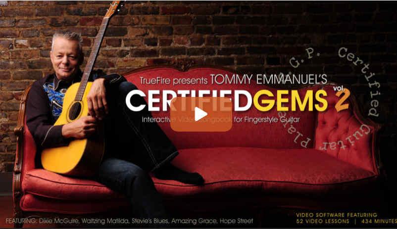 Tommy Emmanuel Certified Gems Vol 2