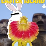 Larry Visits Easter Island
