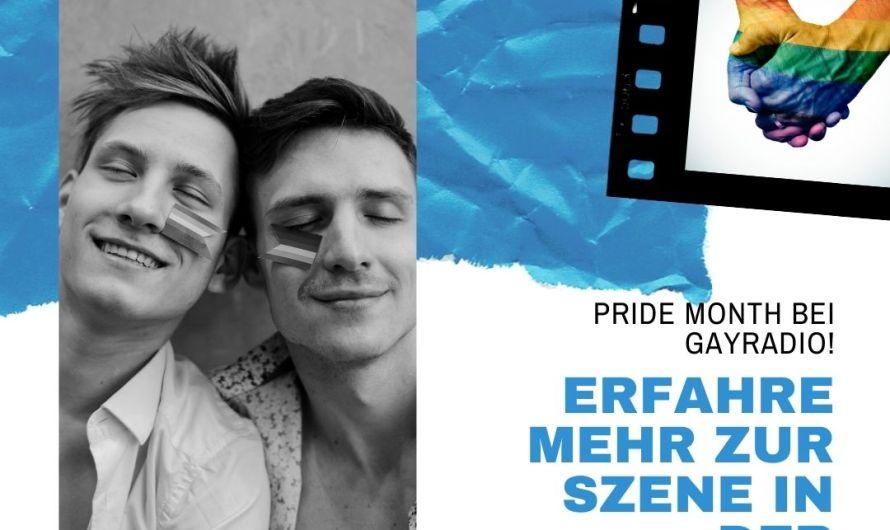 Pride Month bei GayRadio erfahre mehr über die Szene in der Ukraine!