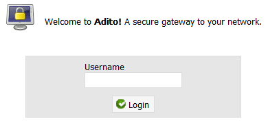 You are ready to use Adito on any browser again
