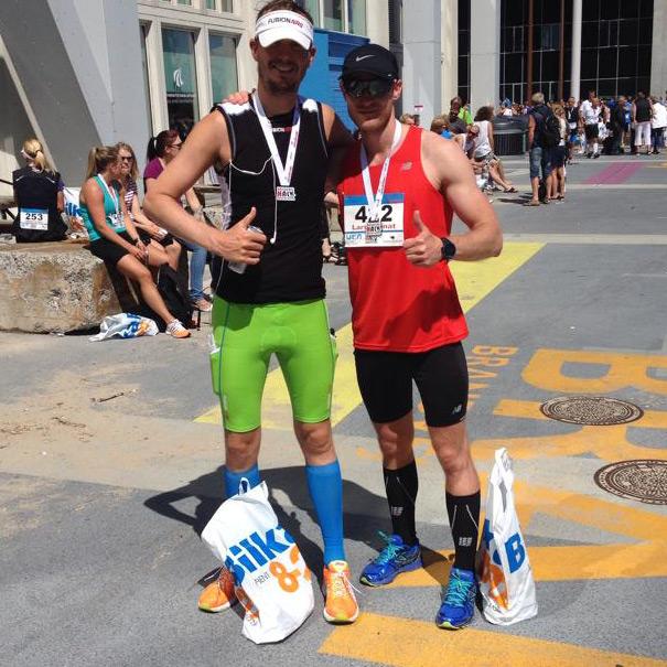 Jacob Bjerning og Lars Granat til Aalborg Halv Marathon