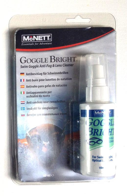 Goggle Bright anti fog spray