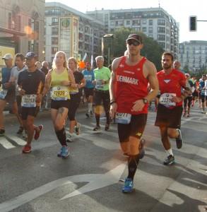 Berlin Marathon 2014 - langs ruten