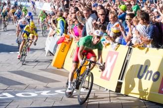 Alexander Kristoff ble for alvor en toppsyklist i 2014 da han vant to etapper i Tour de France, Milano - Sanremo og ikke minst Tour des Fjords pΌ hjemmebane i Stavanger.