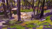 Winter Track sketch 9920