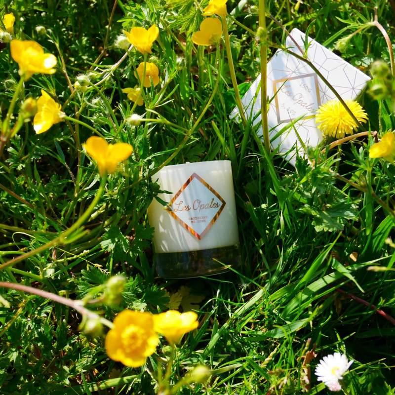bougie fleur d'oranger les opales L'art Osé Toulouse