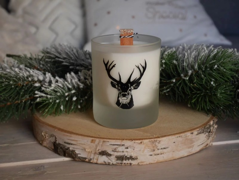 bougie sapin Noël