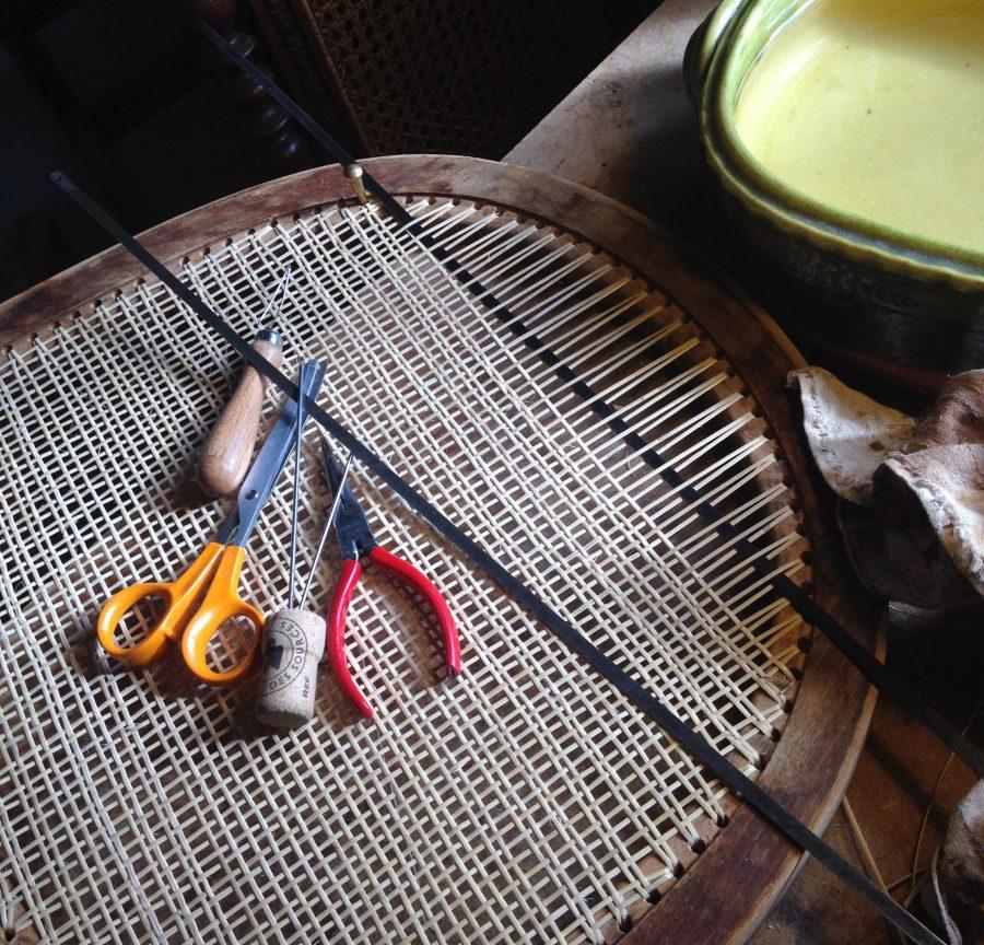 outils cannage percé en atelier