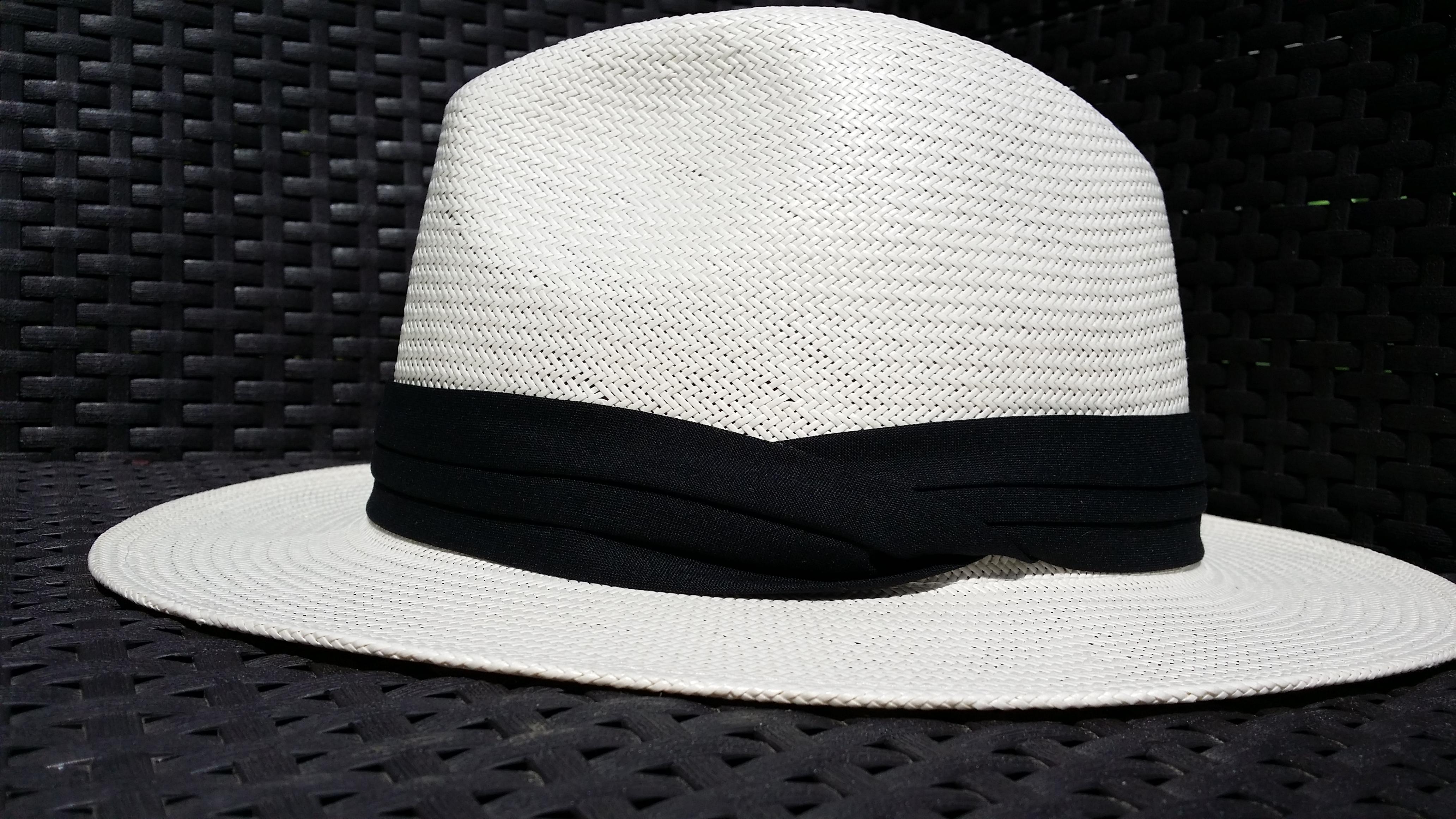 chapeau de paille homme emilio oriental blanchi. Black Bedroom Furniture Sets. Home Design Ideas