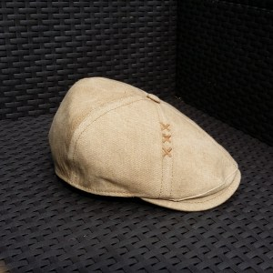 CASQUETTE SEMI BOMBEE BEC DE CANARD (DUCKBILL) OXFORD CASPER