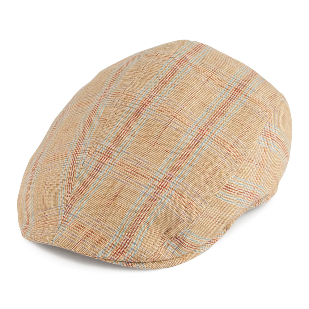 CASQUETTE PLATE BRIGHTON MOUTARDE MADE IN FRANCE DE CRAMBES