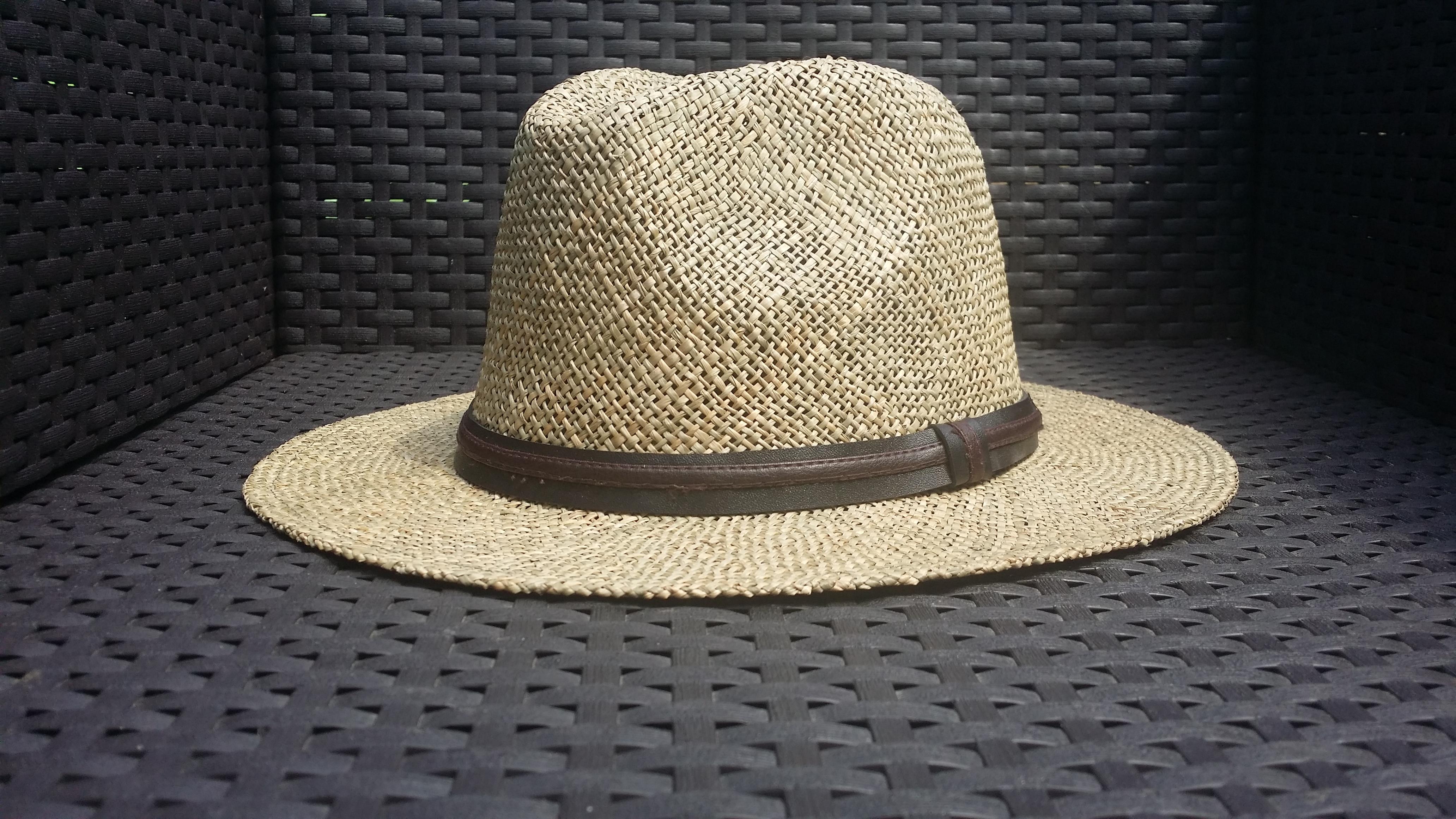 chapeau de paille homme emilio kiang l 39 artisanat de sabrina. Black Bedroom Furniture Sets. Home Design Ideas