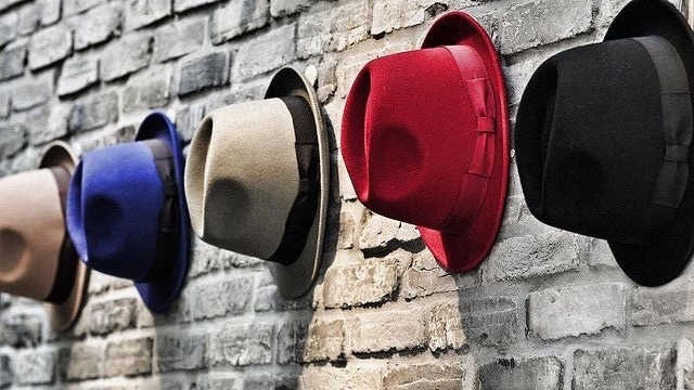 Chapeau forme Trilby