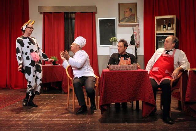 «Un dîner presque pourri» Au Kawa Théâtre à Montpellier jusqu'au 25 mars