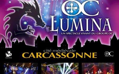 Spectacle son & lumière LUMINA du Groupe Oc au Théâtre Jean-Deschamps à Carcassonne