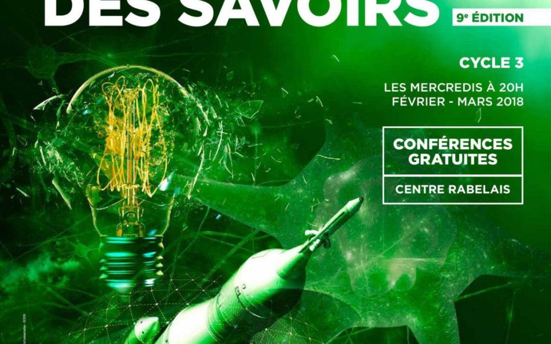 Agora des Savoirs, le 3e cycle interrogera les sciences humaines et la culture scientifique