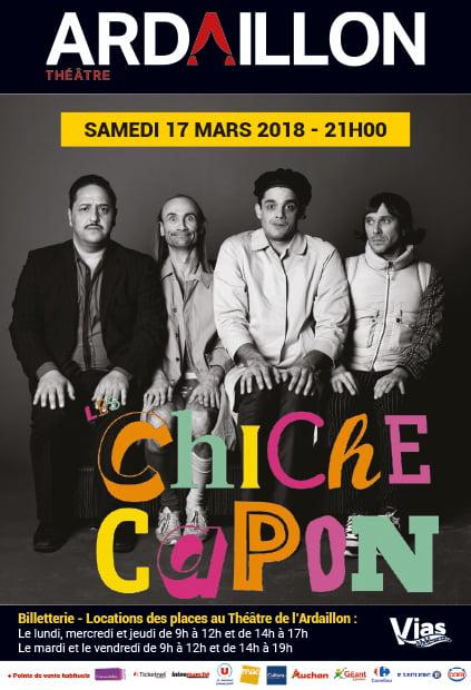 Le Cabaret des Chiche Capon au Théâtre de l'Ardaillon à Vias le samedi 17 mars