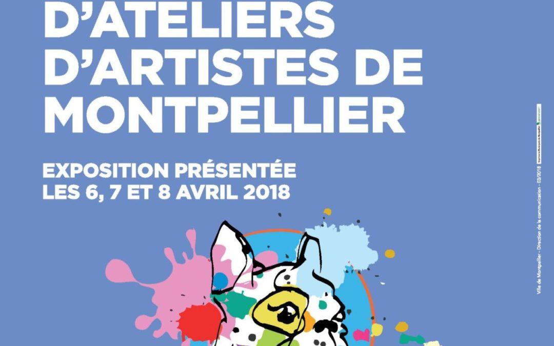 23ème parcours d'ateliers de Montpellier les 6, 7 et 8 avril à l'espace Saint-Ravy à Montpellier