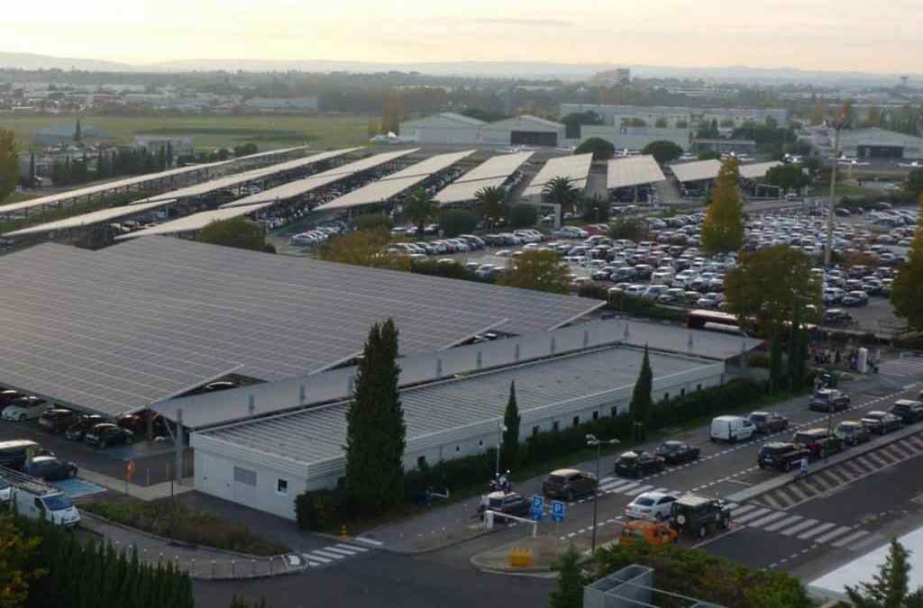 L'aéroport de Montpellier ouvre son parking 100% web