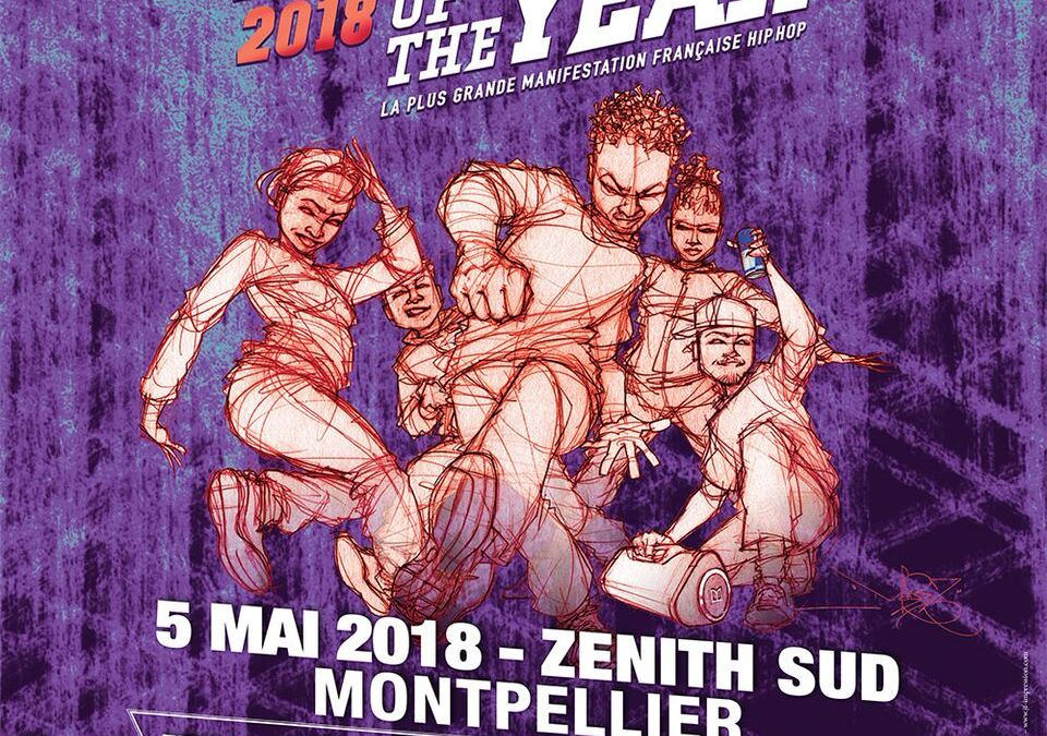 Monster Blaster Battle of The Year le samedi 5 mai Zénith Sud de Montpellier