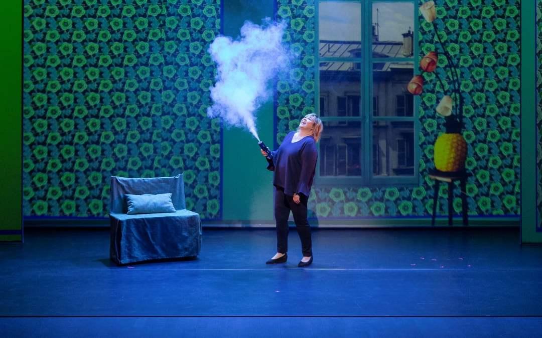Michèle Bernier les mardi 14 et mercredi 15 janvier à l'Opéra Comédie pour les Théâtrales à Montpellier