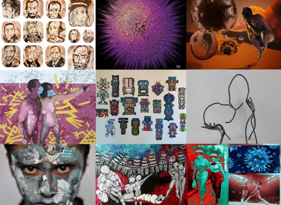 Exposition l'Art-vues «du confinement au monde de demain», merci à tous !