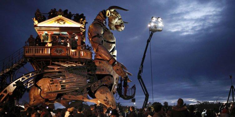 Halle Night Long : des nocturnes jusqu'au 12 septembre à la Halle de La Machine à Toulouse